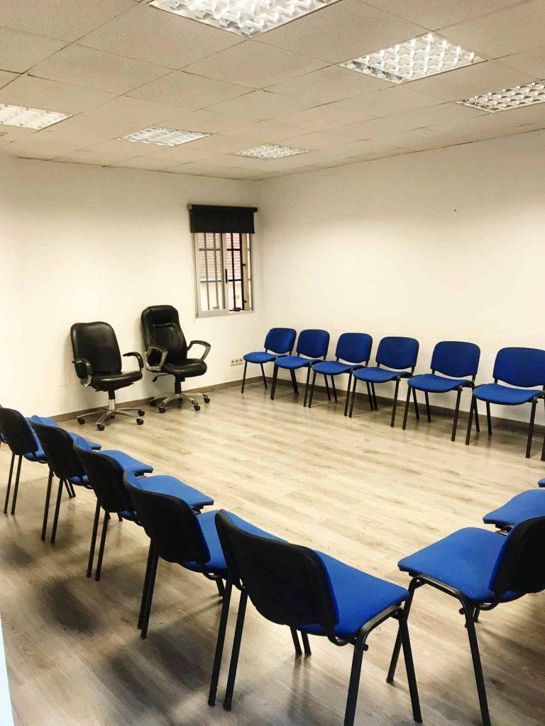 Sala para tratamiento ambulatorio en madrid