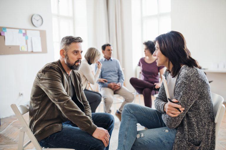 intervencion con paciente de adicciones en el centro mettaalpha